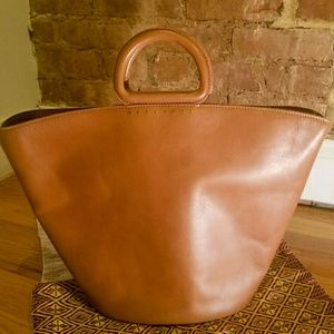 Madewell  Leather Tote Bag